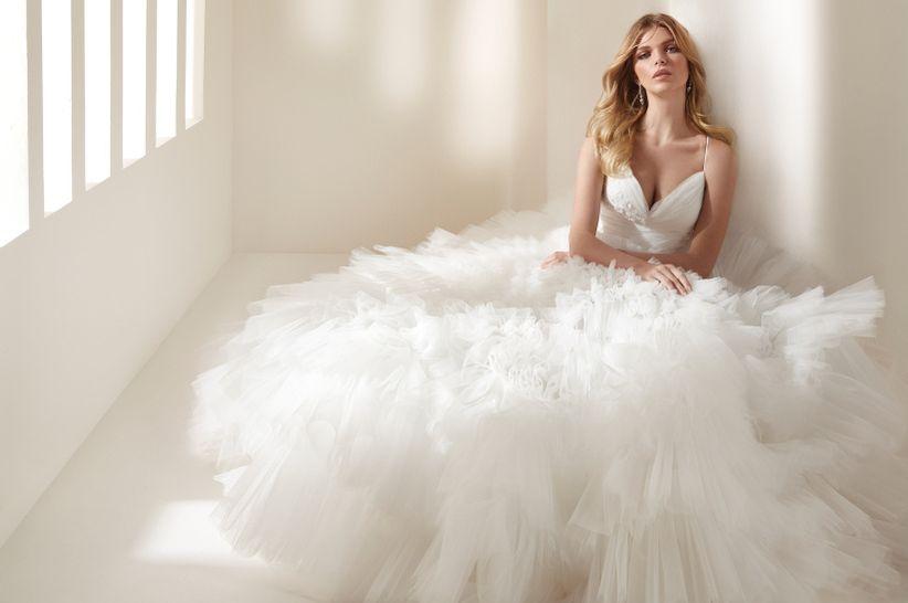 cddb898534 Vestidos de novia Hannibal Laguna Atelier 2019