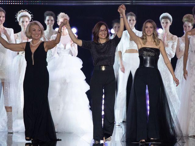 0e7069ec Nicole presenta su colección de vestidos de novia 2020 en un emotivo evento