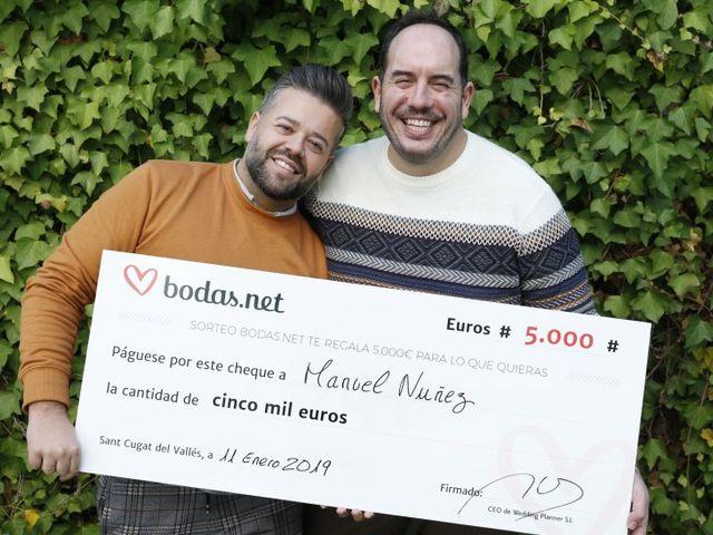 No hay dos sin tres: 5000 euros para otro viaje. ¡Estos son los afortunados ganadores del sorteo de Bodas.net!