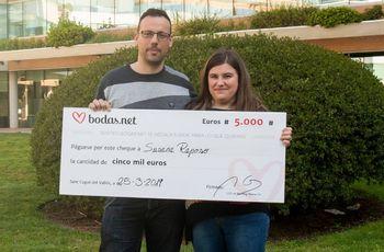 5000 euros para una preciosa luna de miel. ¡Descubrid a los nuevos ganadores del sorteo de Bodas.net!