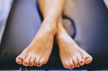 ¡Luce unos pies perfectos el gran día!