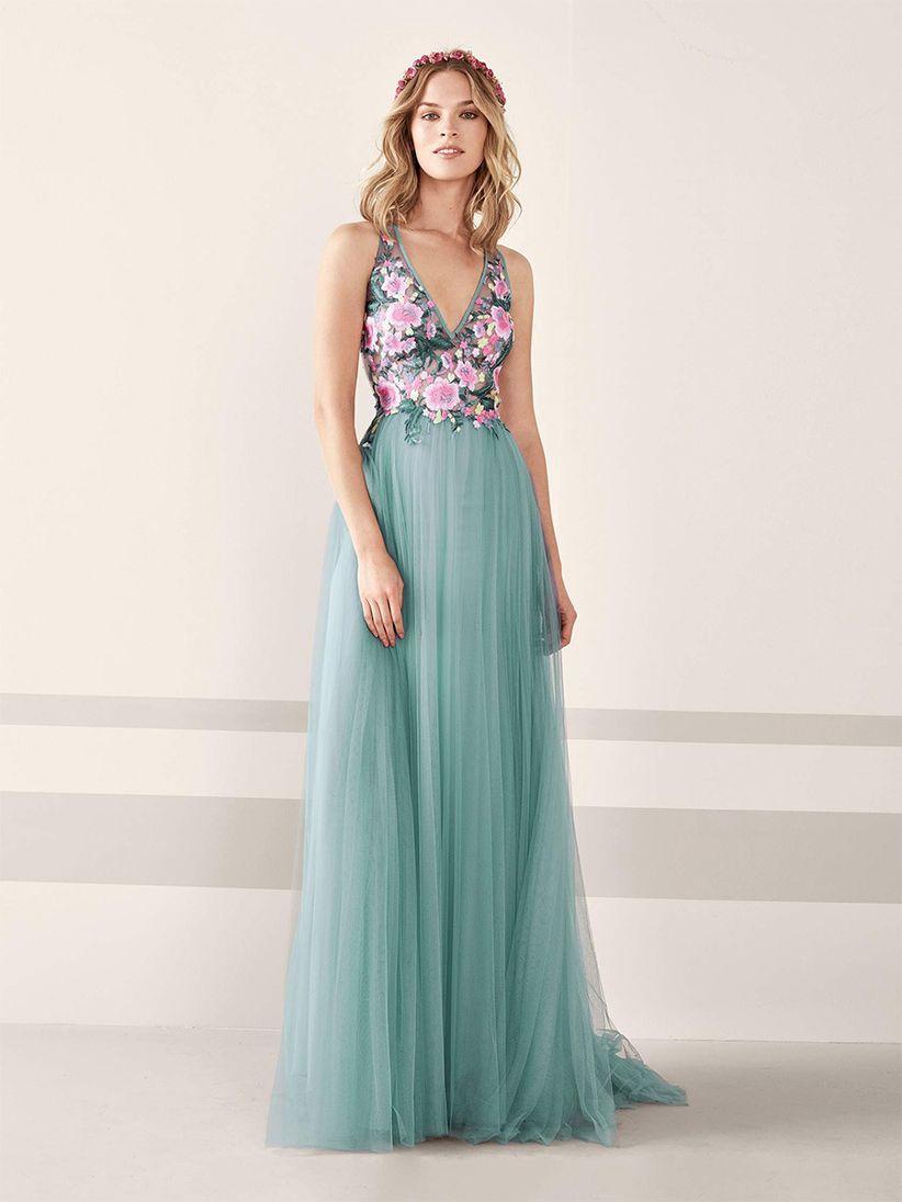 9a7d57693 Vestidos de fiesta Pronovias 2019