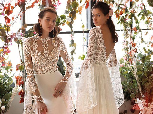 Adelanto de los vestidos de novia Demetrios 2020