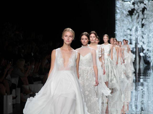 Barcelona Bridal Week, tendencias en vestidos de novia 2016