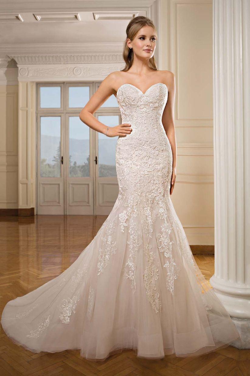 9b9552d948 Vestidos de novia Cosmobella 2018  el tul es la estrella