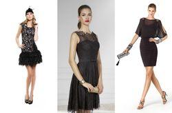10 little black dresses para las invitadas