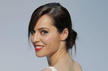 Recogidos con flequillo: los mejores peinados para novias