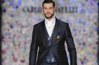 Trajes de novio Carlo Pignatelli 2018: elegancia british con un toque chic italiano
