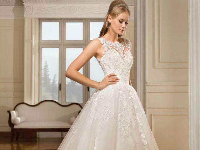 Vestidos de novia Cosmobella 2018:  el tul es la estrella