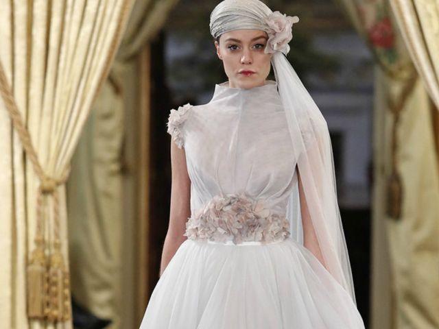Vestidos de novia 2018 Carmen Soto: ¡Sí a la alta costura!