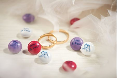 7 ideas muy dulces para decorar tu boda con M&M's