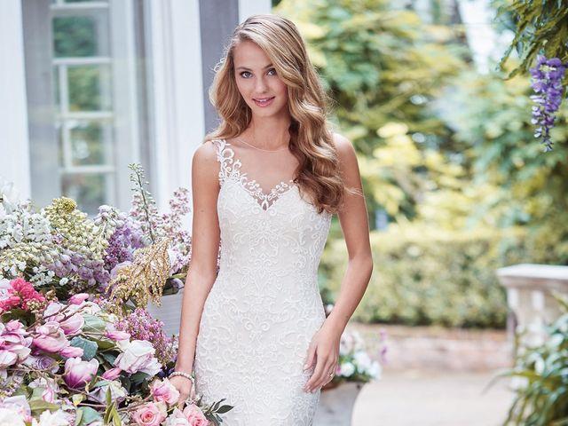 Vestidos de novia Rebecca Ingram 2018: elegancia y sencillez