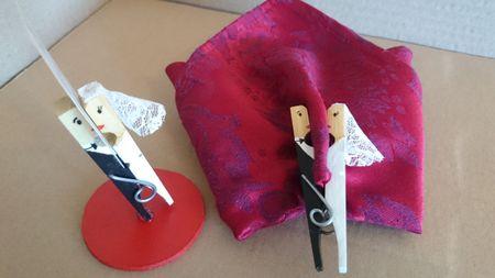 Haz tus pinzas besuconas, un detalle muy original para los invitados