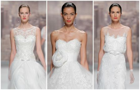 Rosa Clará 2015 Barcelona Bridal Week
