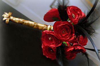 Cómo hacer un ramo de novia de tela