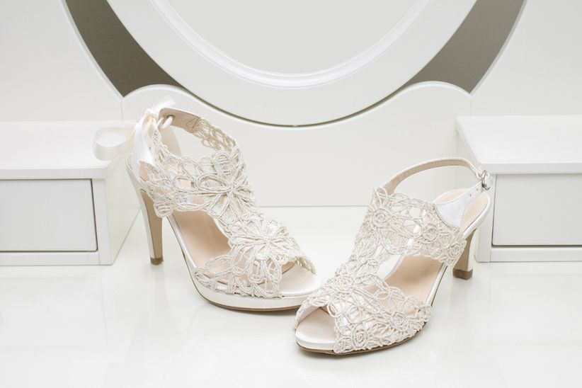 zapatos de novia Ángel alarcón 2014