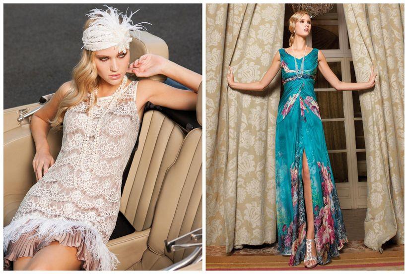 d4c148067 Vestidos de fiesta Sonia Peña 2014