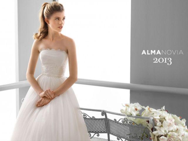 Vestidos de novia Alma Novia 2013