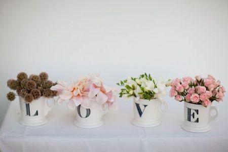 8 ideas originales para las flores de boda