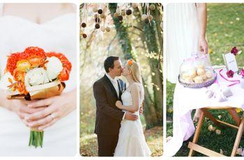 Inspiración para una boda de otoño