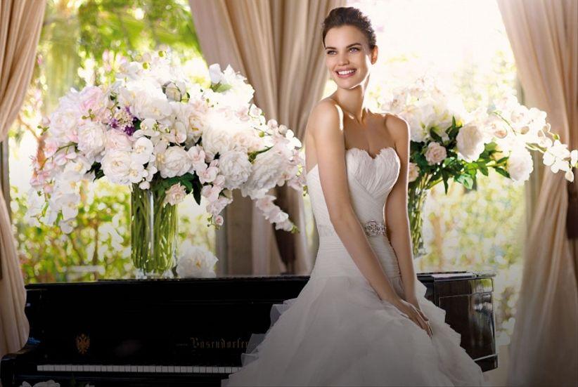 65279a4494 La nueva colección de vestidos de novia San Patrick 2013