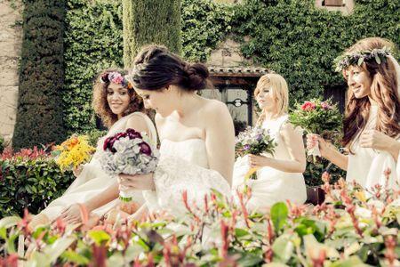 Cuatro novias, cuatro estilos