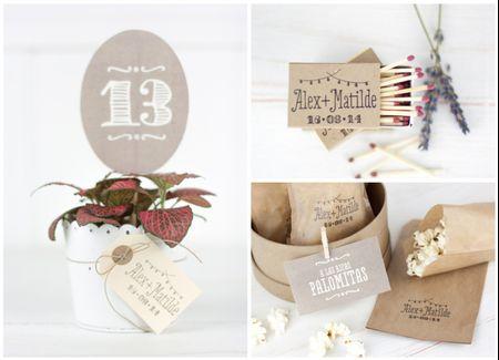 10 DIY para usar tu sello de boda