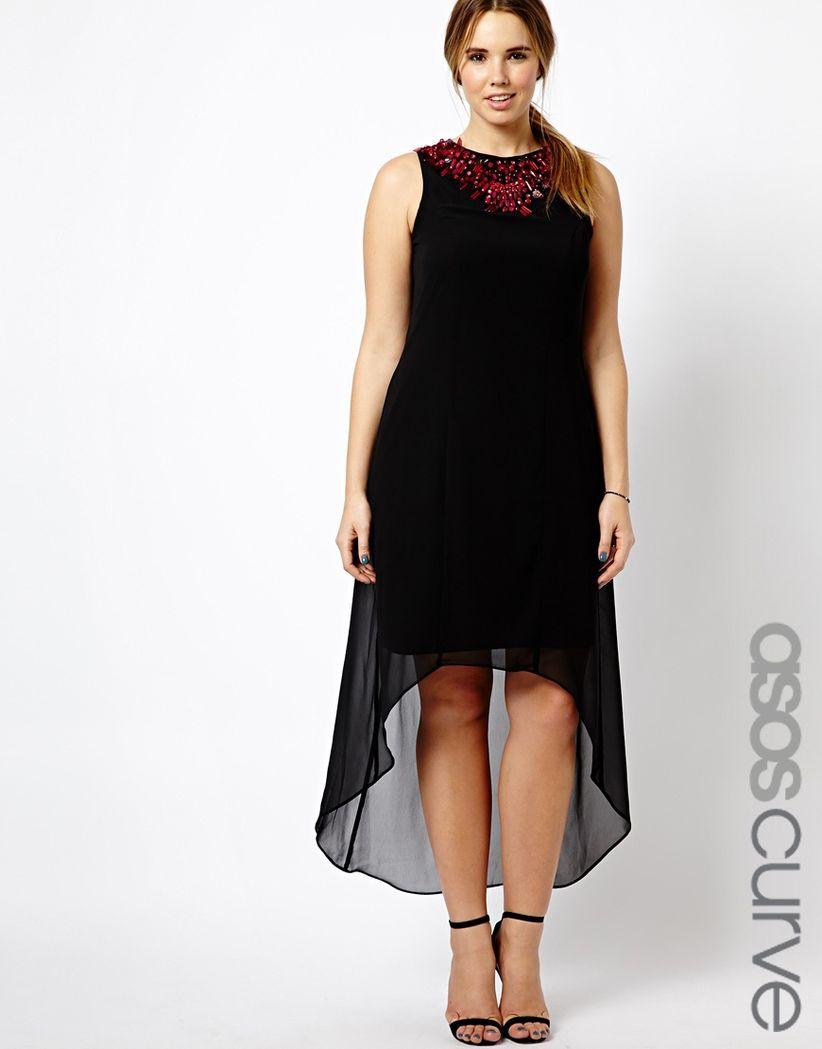 35cd24b9c Vestidos de fiesta tallas grandes 2014