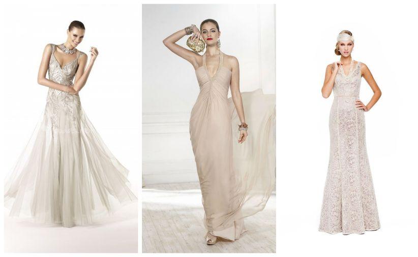 e563cf43d0 Los vestidos de novia no son la única opción y cada vez más novias lo  saben. Los grandes diseñadores tienen en sus colecciones vestidos de fiesta  y cóctel ...