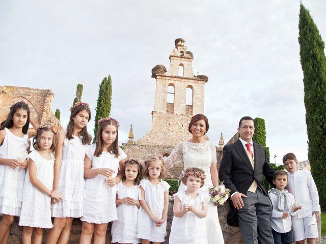 La boda de Nicoleta y Luis en Los Claustros de Ayllón