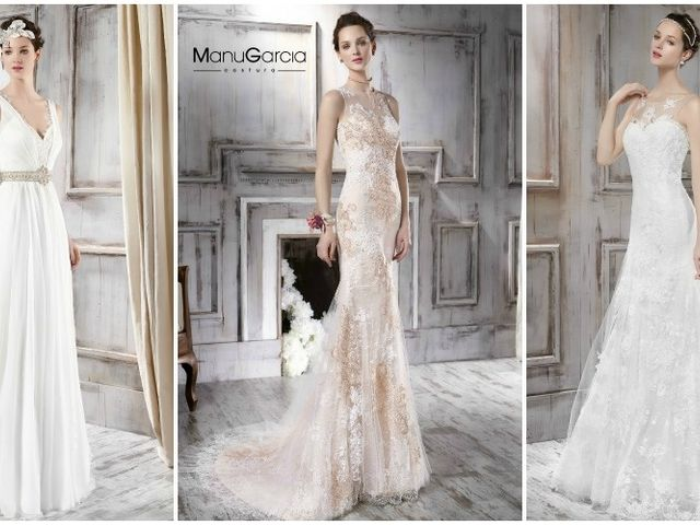 Vestidos de novia Manu García 2016