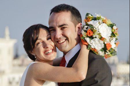 Una boda en el corazón de Madrid