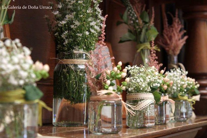 C mo conseguir un ambiente r stico y chic en tu boda - Decoracion rustica chic ...