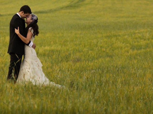 La boda de Antonio y Lidia en Olivar de Santa Teresa
