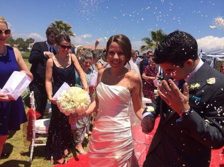 La boda de Luis y Sarah en el Parador de Málaga Golf