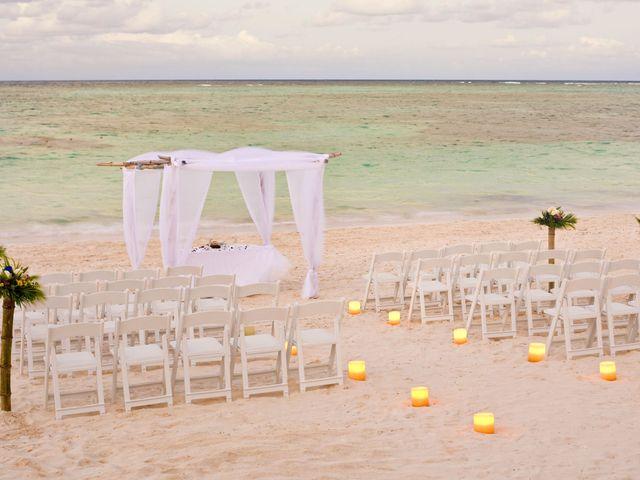 Decoración para una ceremonia en la playa