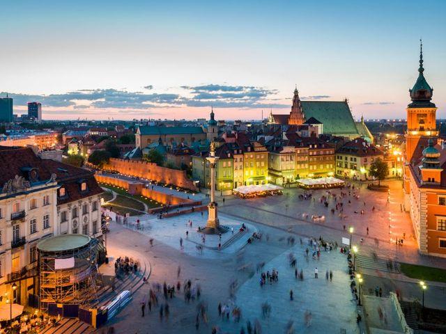 Luna de miel en Polonia