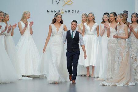 Vestidos de novia 2018: Manu García y su nueva colección Star System