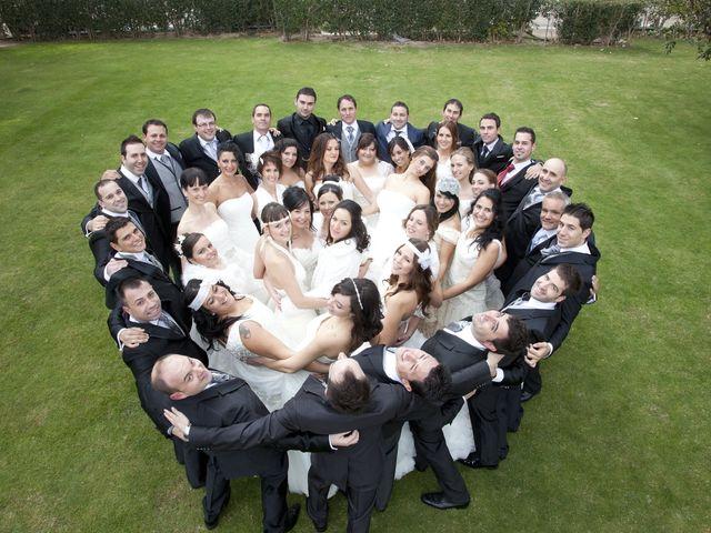 Encuentro de novios tras la boda