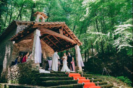 Los testigos en una boda religiosa
