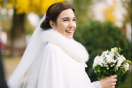 El maquillaje perfecto para novias de invierno