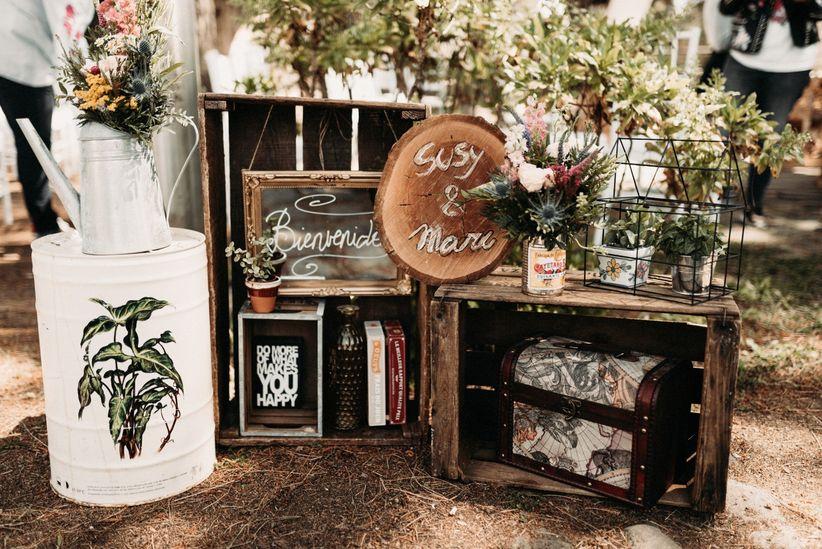 Matrimonio Rustico Como : Claves para una boda rústica