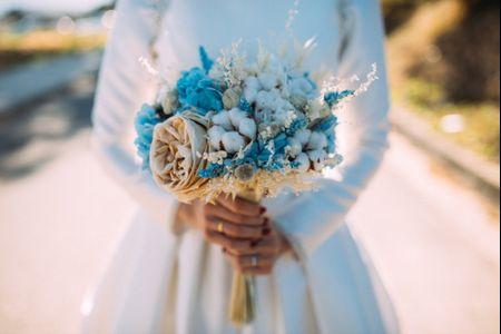 """¿Qué puede ser tu """"algo"""" azul? 5 formas de incluir el color en tu look de novia"""