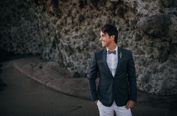 Tendencias en trajes de novio 2018