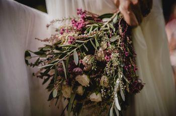 Hojas de olivo: perfectas para la decoración de la boda