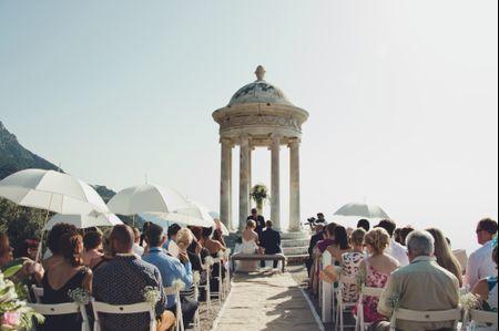 7 cosas que debes saber si celebras tu boda al aire libre