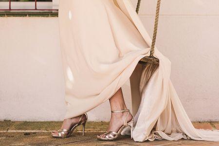 50 zapatos de novia en tonos pastel y metalizados, ¡tendencia 2018!