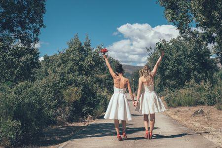 Una fiesta de amor en el campo: el día B de Johana y Angy