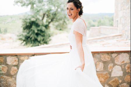 5 señales que te indican que ese es tu vestido de novia