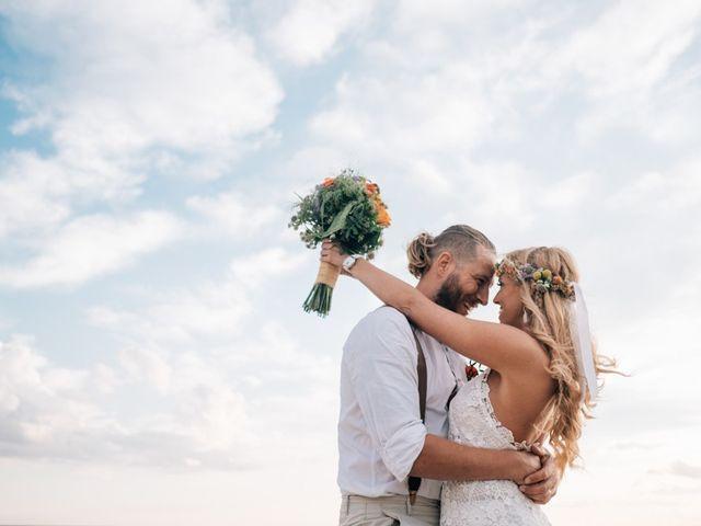 ¿Cuál es el mejor look para una boda en la playa?